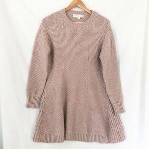 Stella McCartney Pink Alpaca Blend Sweater Dress